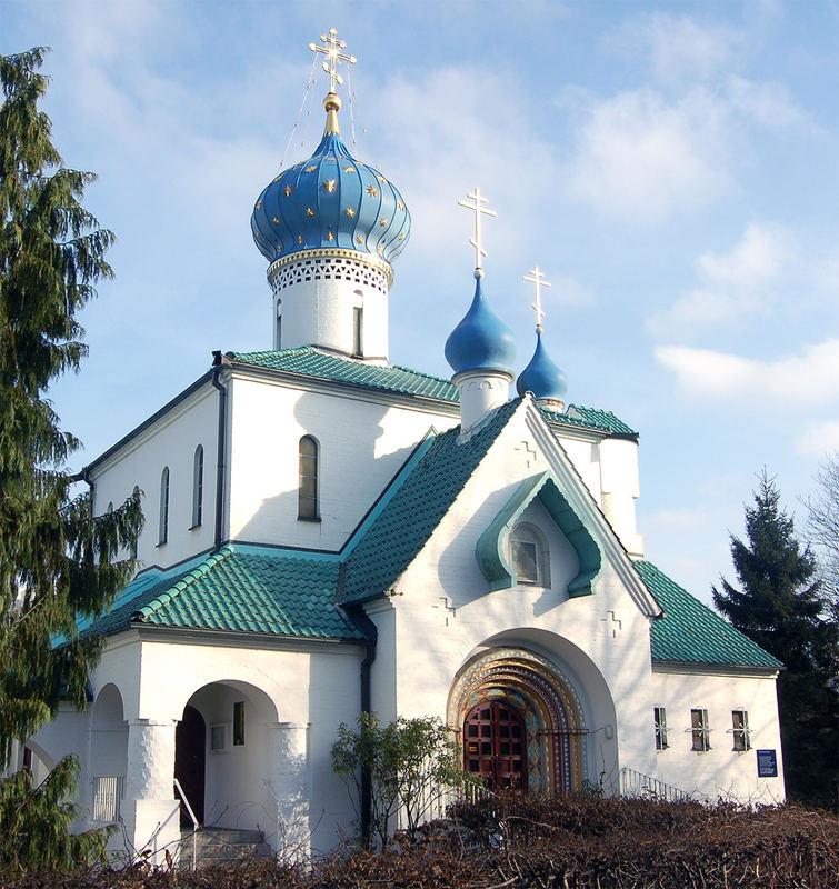 Russisch orthodoxe Kirche - Hamburg Foto & Bild