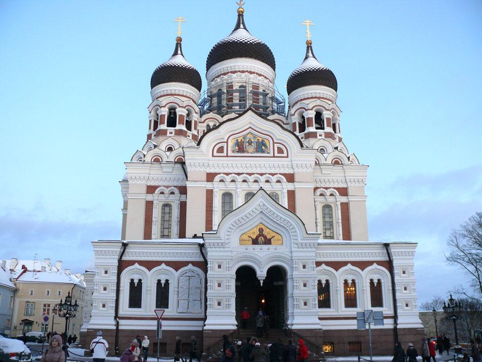 Russisch-orthodoxe Kirche in Tallinn Foto & Bild | europe
