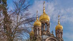 RUSSISCH-ORTHODOXE KIRCHE, WIESBADEN (2)