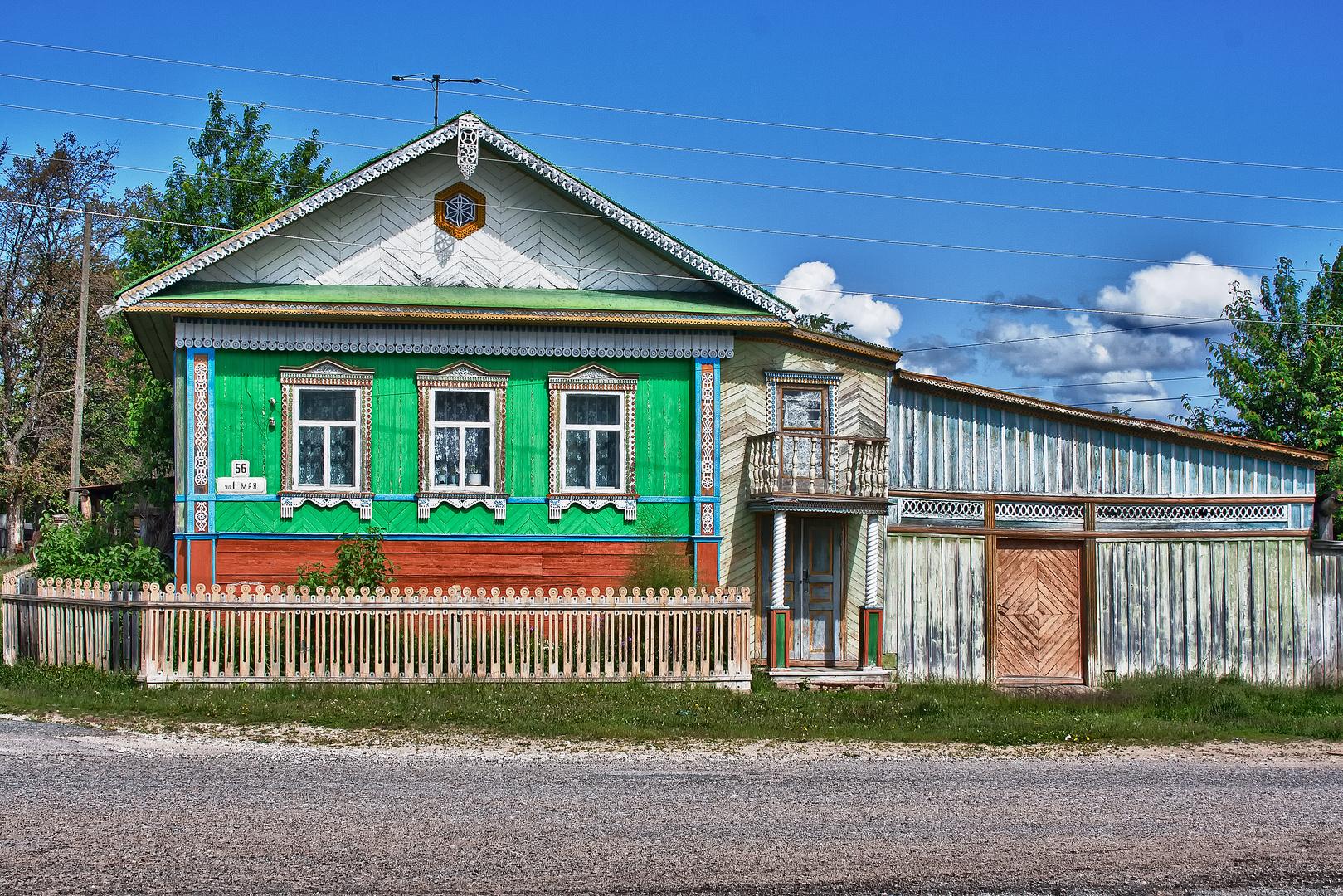 Russische Datscha