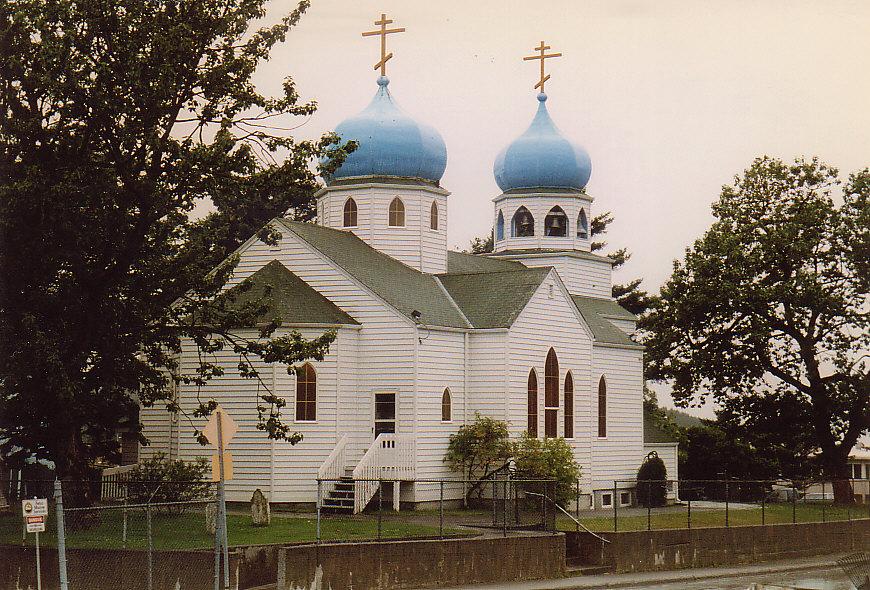 Russische Kirche auf Kodiak/ Alaska
