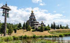 Russische Stabkirche - Mühlenmuseum Gifhorn