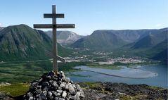 Russisches Gipfelkreuz