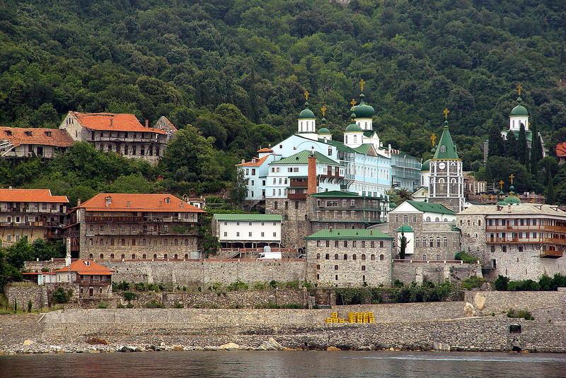 Russisches Kloster auf Athos