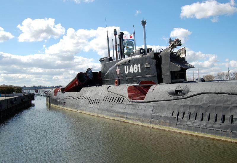 Russisches U-Boot Juliett U461