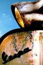rusty vespa
