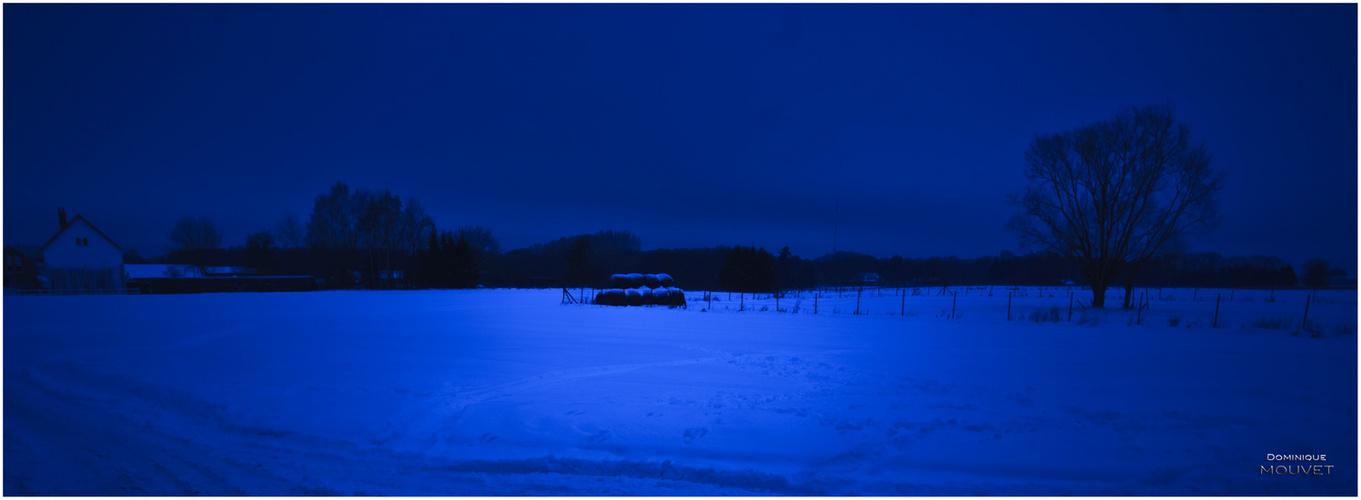 rêve bleu d'hiver