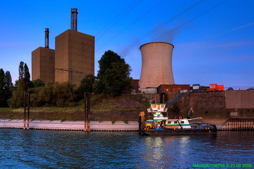 RWE Powerhouse Duisburg-Huckingen / HDR