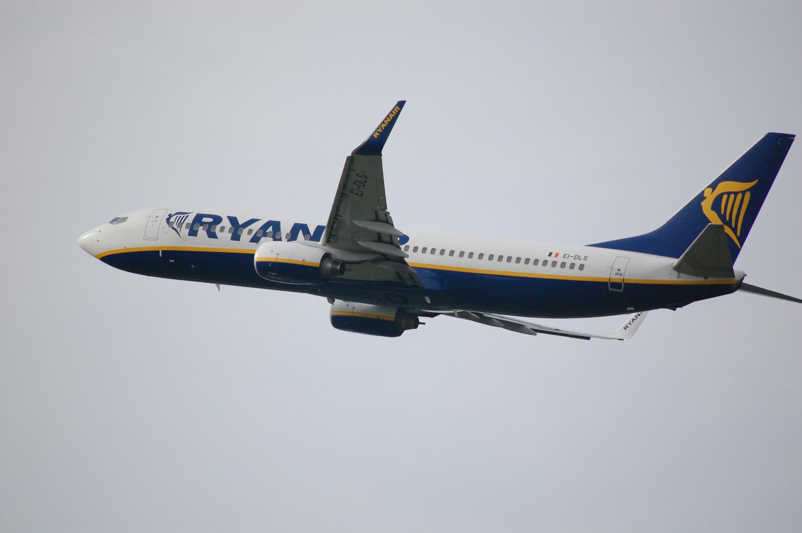 Ryanair Tekeoff