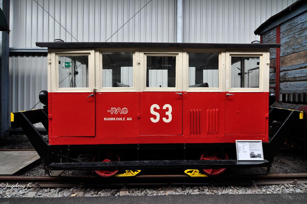 S 3 - Motordraisine der Ruhrkohle AG