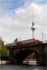 S-Bahn & Fernsehturm Berlin