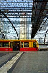 S-Bahn im Berliner Hbf