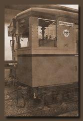 S-Bahnzug der Deutschen Reichsbahn (Linie nach Potsdam)