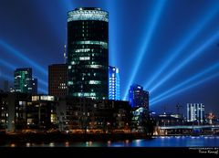 "'s ""Gerippte"" in Frankfurt in blau"