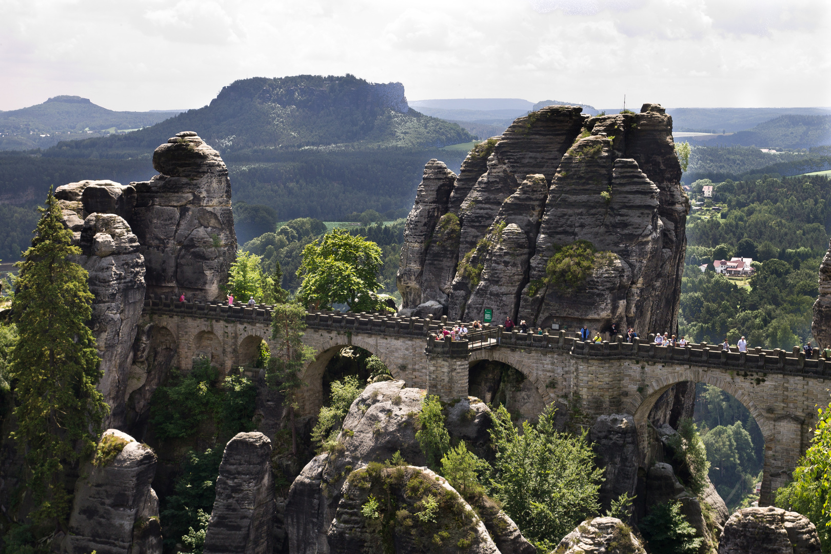 S-Schweiz, Blick auf die Basteibrücke