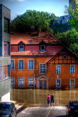 Saalehochwasser 2013 - #1