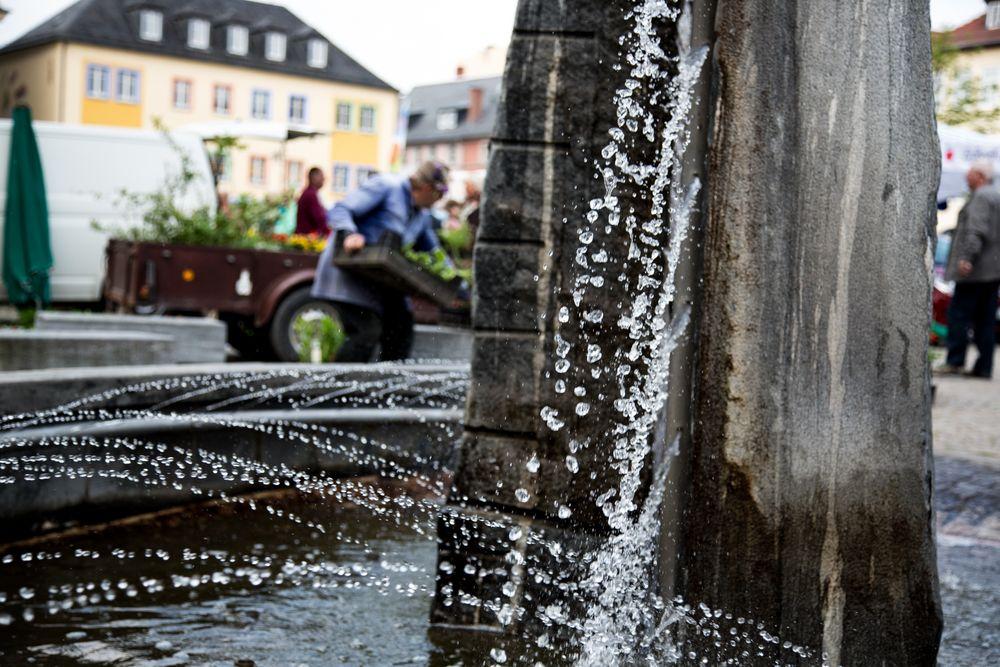 Saalfeld - Marktbrunnen