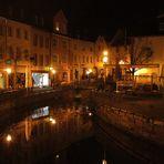 Saarburg an der Saar bei Nacht