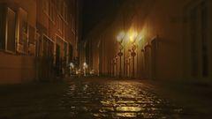 Saarburg bei Nacht 1 (3D)