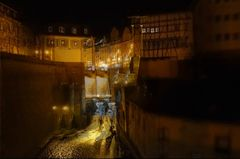 Saarburg bei Nacht 8 (3D)