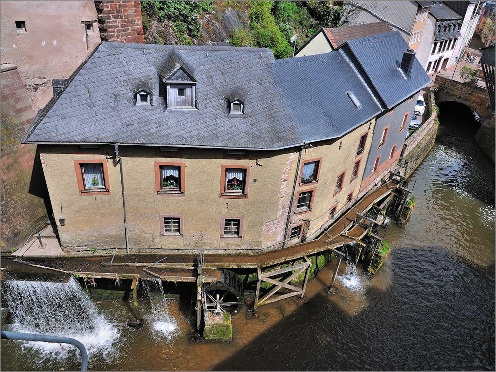 Saarburg - Wassermühlen