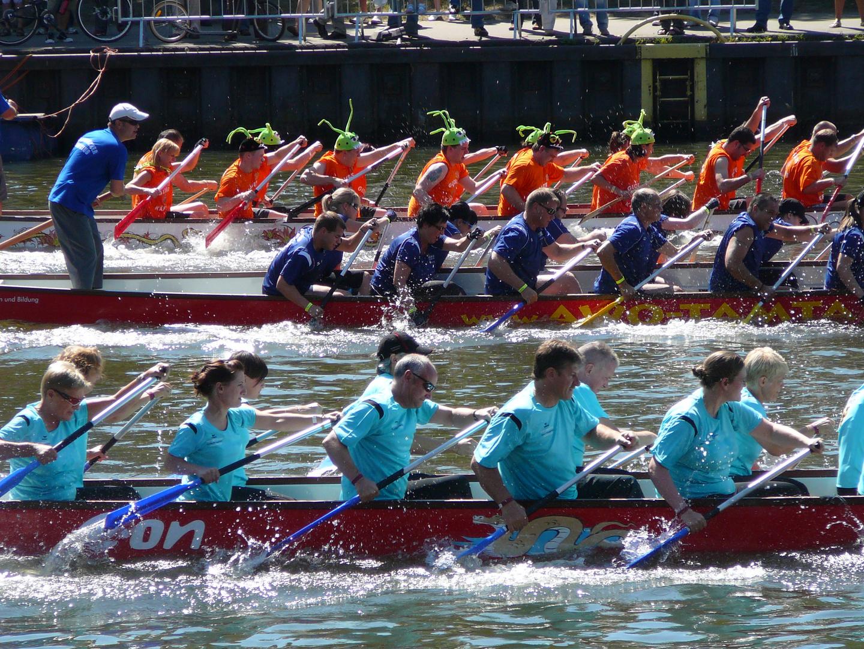 Saarspektakel Drachenbootrennen