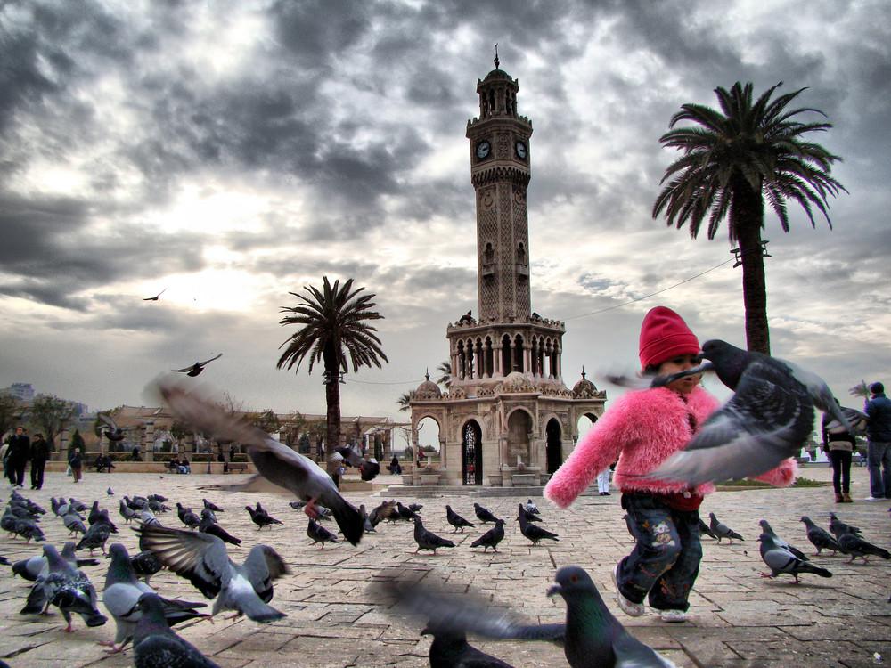 SAAT KULESi-** Turm Uhr ** Türkei / izmir