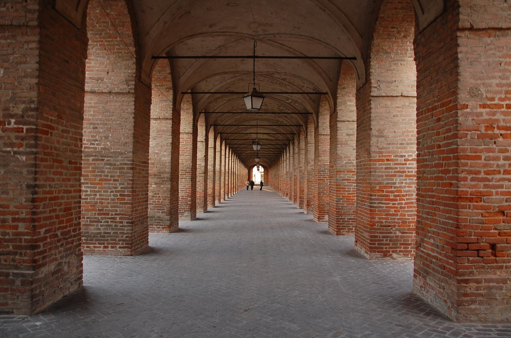 Sabbioneta, la Galleria