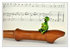 Sabine will mir die Flötentöne beibringen *