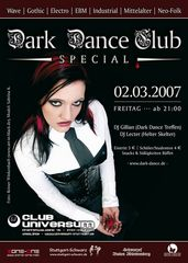 Sabrina goes auch mal Dark Dance ;o)