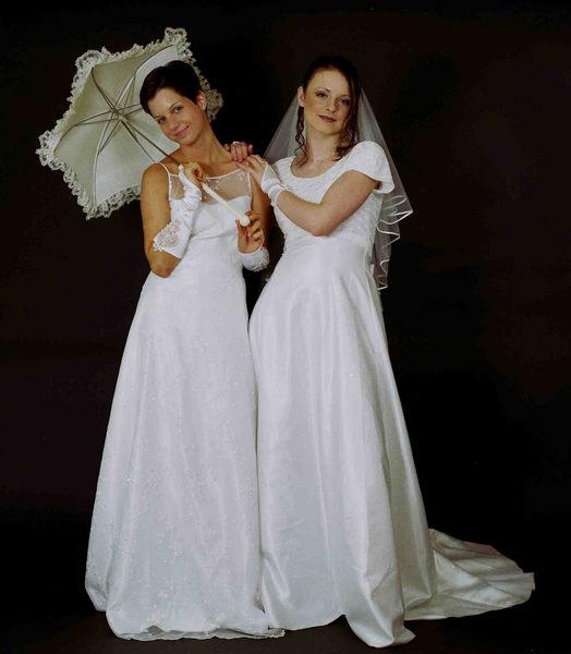 Sabrina und Marina! Ein Traum in Weiß!