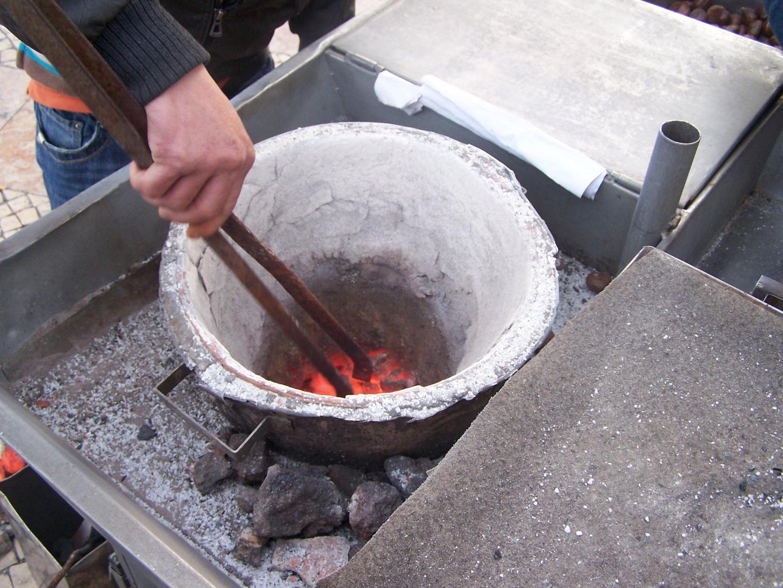Sacando las castañas del fuego (Lisboa)