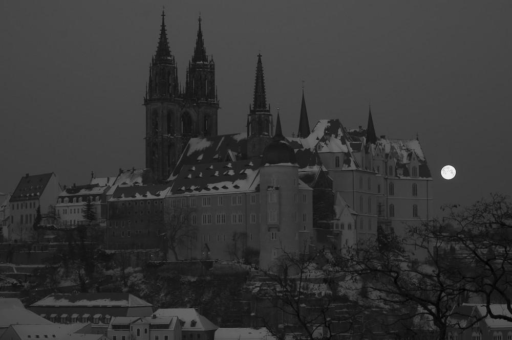 Sachsen - Meissen, Albrechtsburg mit Dom...