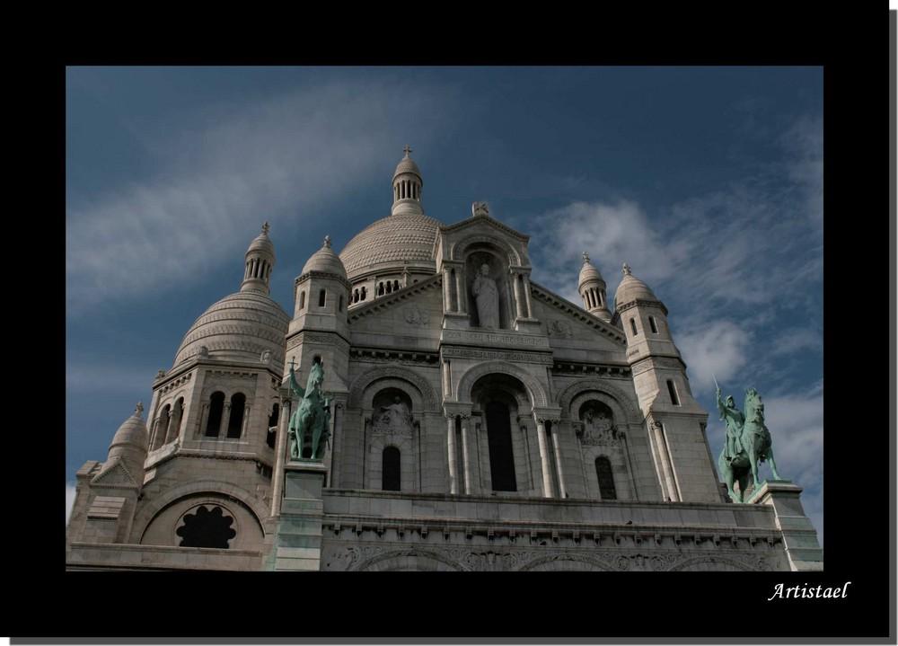 Sacré Coeur - Montmartre - photo dédiée à Ingrid Bétancourt