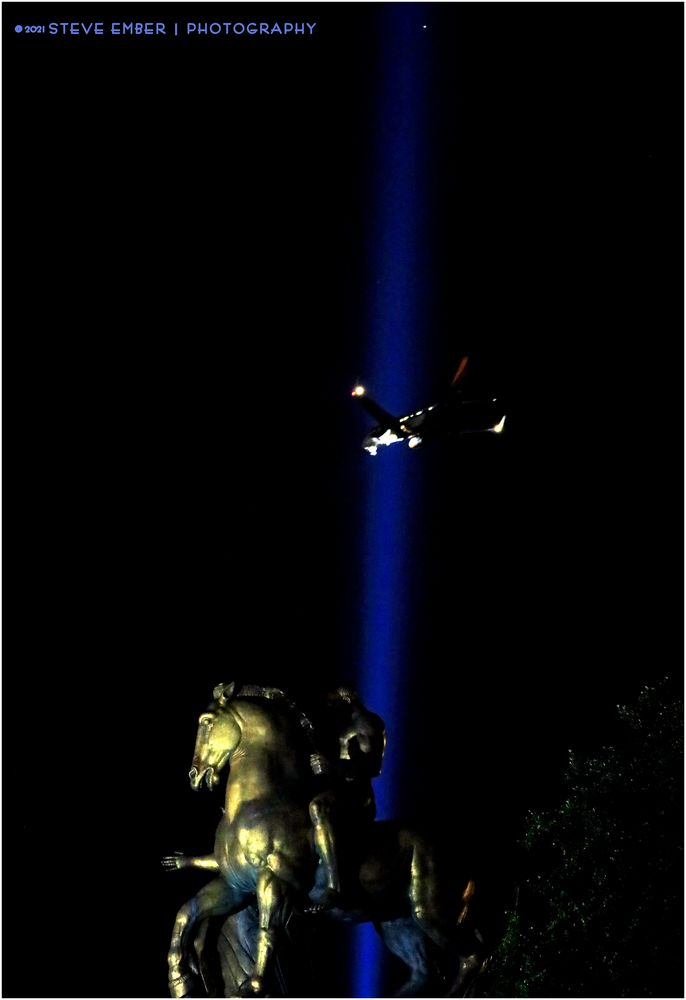 Sacrifice and Tower of Light No.2 - A 9/11 Moment