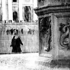 sacro e profano P.zza S.Pietro, Roma
