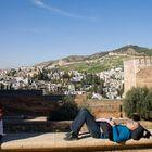 sacromonte y albaicin desde la Alhambra