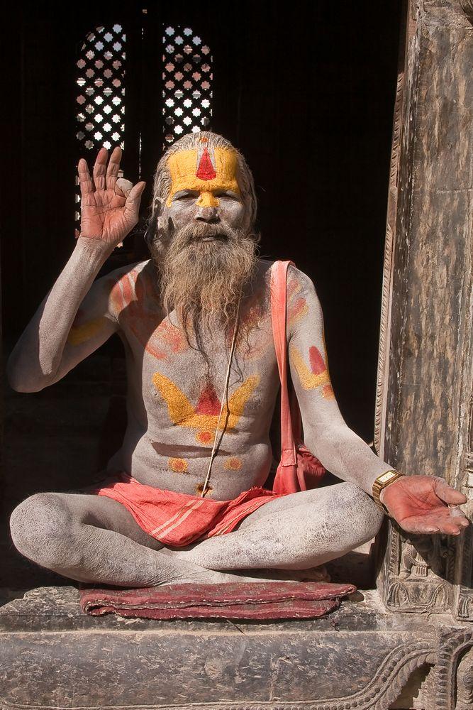 Sadhu oder Asket