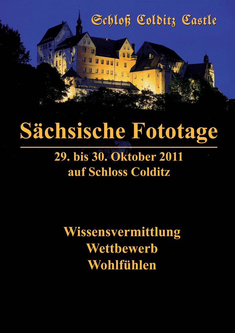 Sächsische Fototage 2011 auf Schloss Colditz