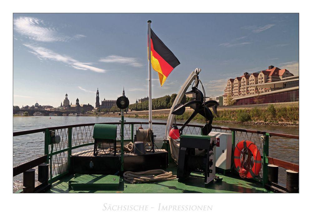 """Sächsische Impressionen """" Blick auf Dresden..."""""""