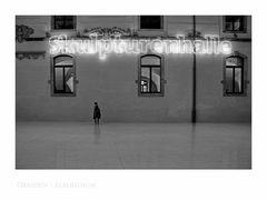 """Sächsische Impressionen """" Dresden - Albertinum, die Fotografin """""""