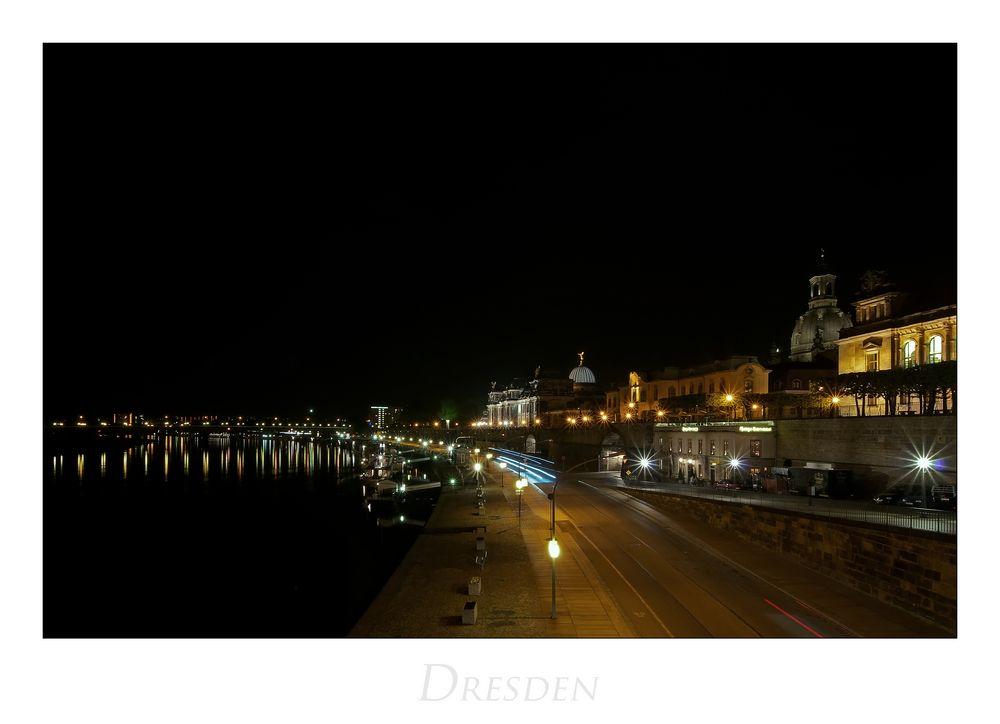 """Sächsische Impressionen """" Dresden bei Nacht..."""""""