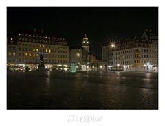 """Sächsische Impressionen """" Dresden, bei Nacht...."""""""
