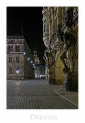 """Sächsische Impressionen """" Dresden, bei Nacht..."""""""