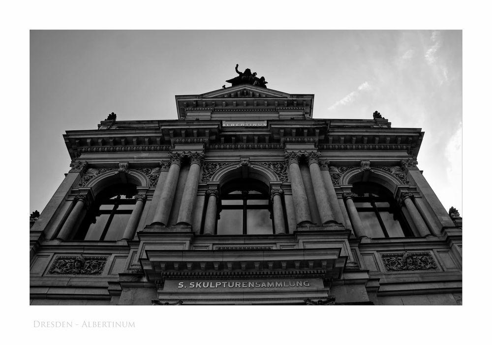 """Sächsische Impressionen """" Dresden - das Albertinum aus meiner Sicht.... """""""