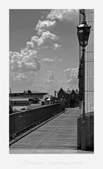 """Sächsische Impressionen """" Dresden - der Blick vom Blauen Wunder aus meiner Sicht...."""""""