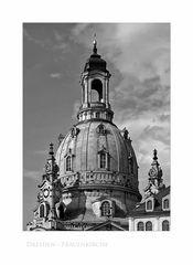 """Sächsische Impressionen """" Dresden - Frauenkirche """""""