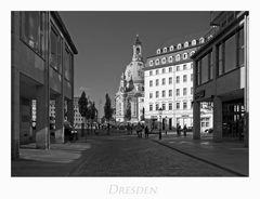 """Sächsische Impressionen """" Dresden - Licht und Schatten..."""""""