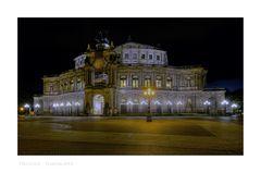"""Sächsische Impressionen """" Dresden - Semperoper """""""
