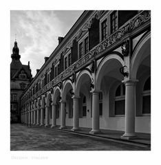 """Sächsische Impressionen """" Dresden - Stallhof """""""